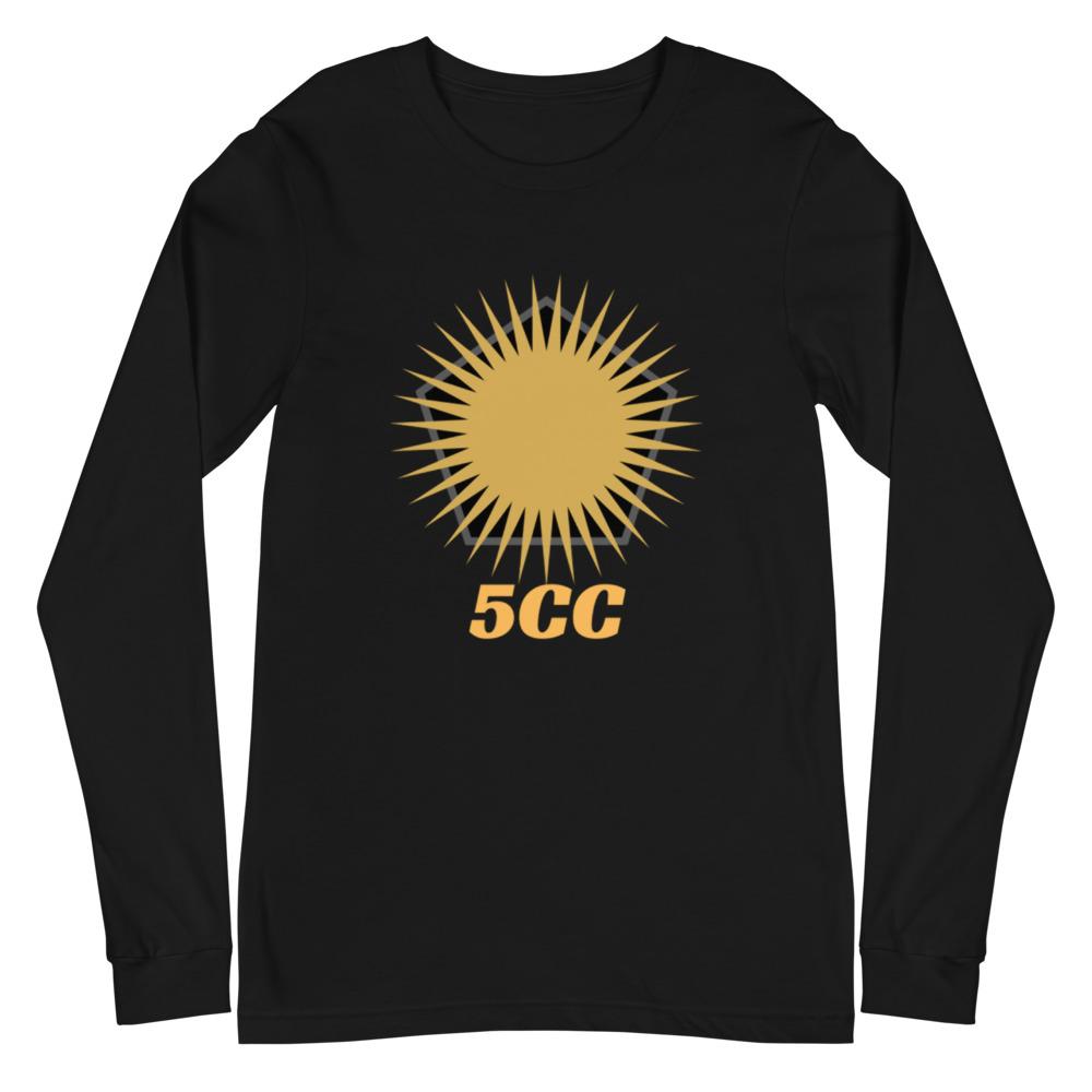 """5CC Wrestling """"5CC Logo"""" Unisex Long Sleeve Shirt"""