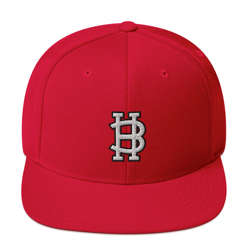 "Allan Jepsen ""Big Hurt Logo"" Snapback Hat"