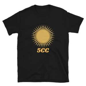 "5CC Wrestling ""5CC Logo"" Short-Sleeve Unisex T-Shirt"