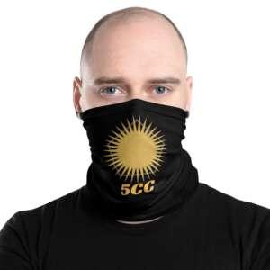 "5CC Wrestling ""5CC Logo"" Neck Gaiter Face Mask"