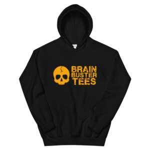 """Brainbuster Tees """"Logo"""" Unisex Hoodie"""