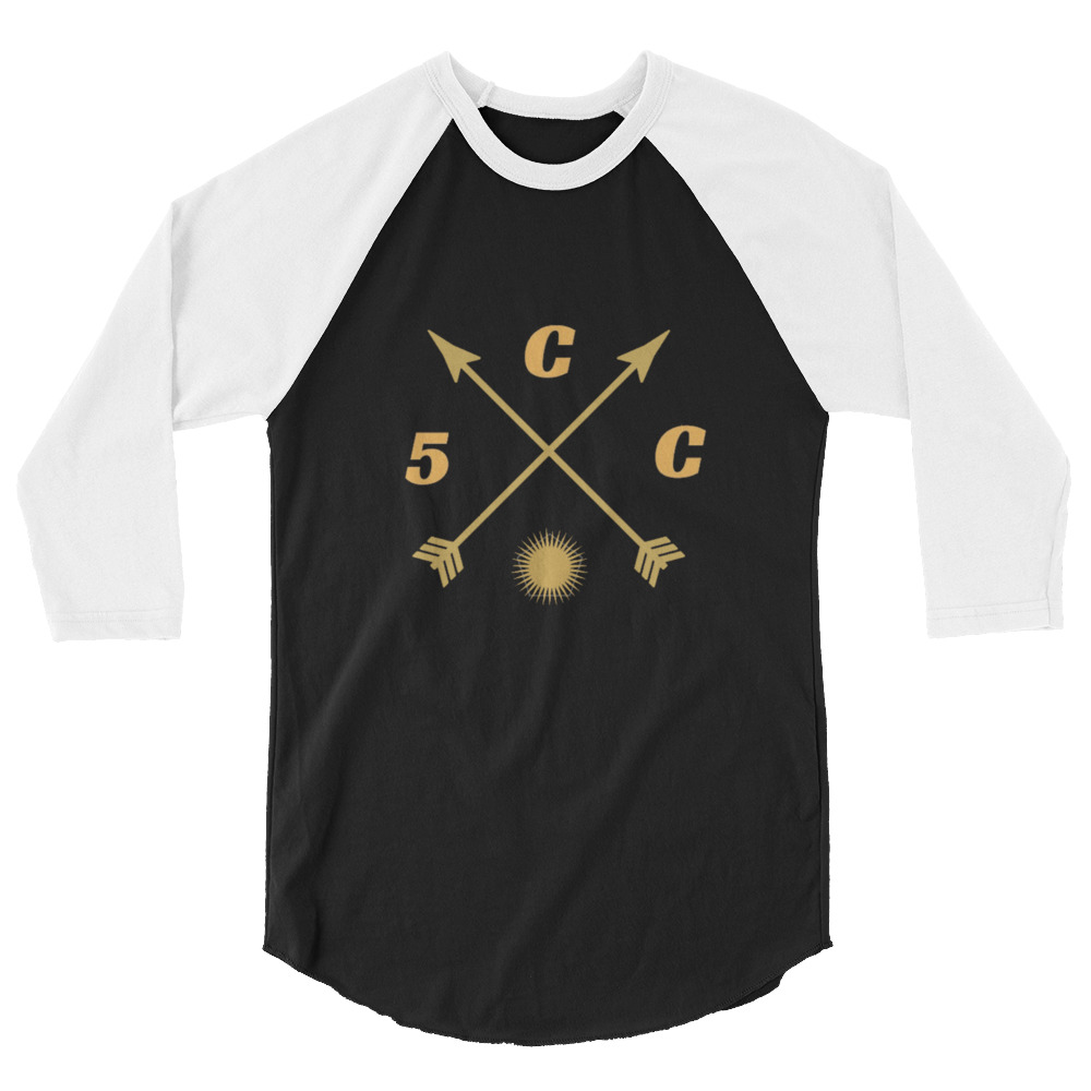 "5CC Wrestling ""PNW Proud"" 3/4 sleeve raglan shirt"