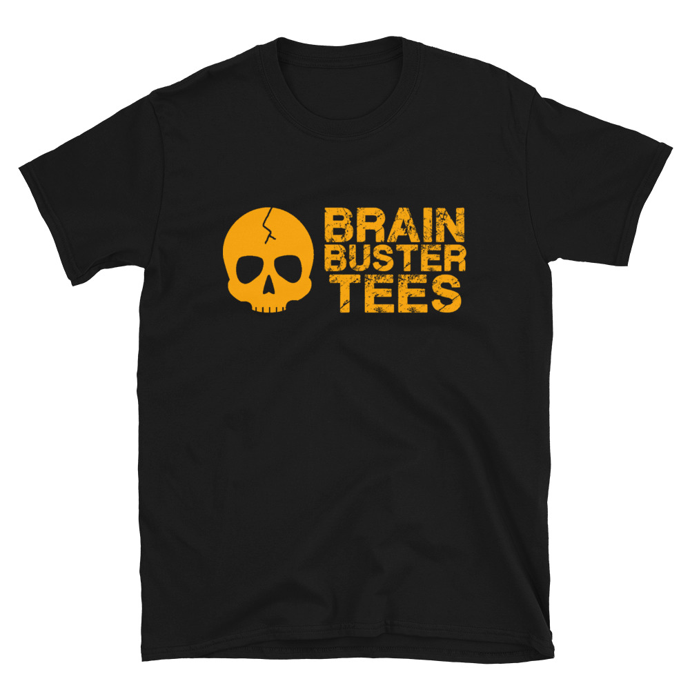 "Brainbuster Tees ""Logo"" Short-Sleeve Unisex T-Shirt"
