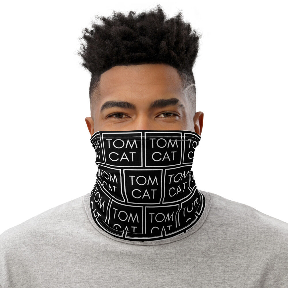 "Tomcat Jones ""Simply Simple"" Neck Gaiter Face Mask"