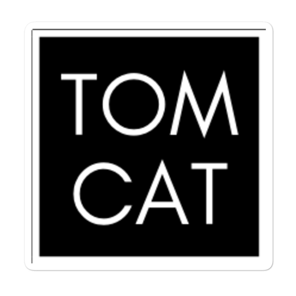 "Tomcat Jones ""Simply Simple"" Bubble-free stickers"