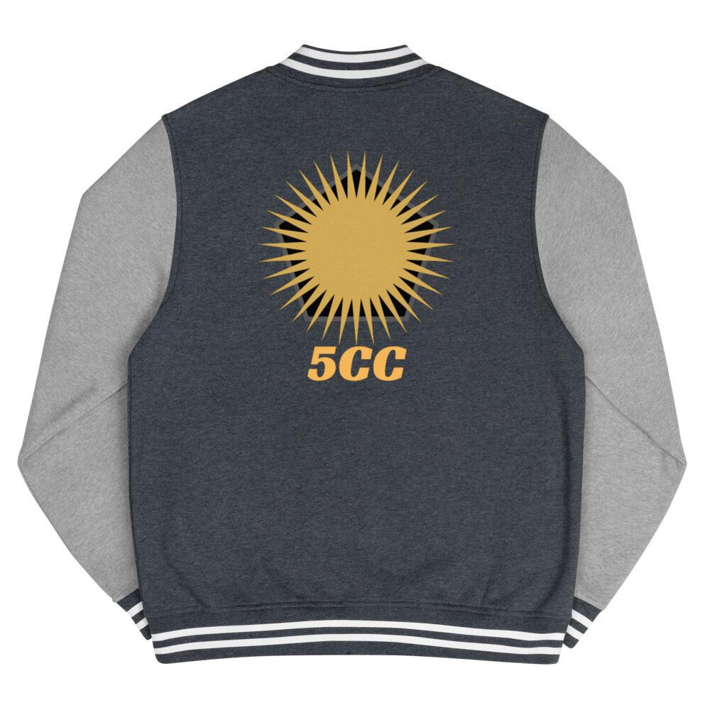 "5CC Wrestling ""5CC Logo"" Letterman Jacket"