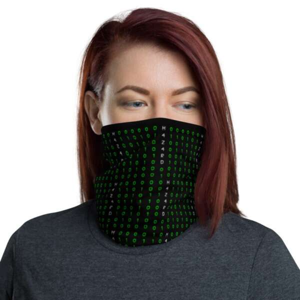 "H4Z4RD ""Subnet Mask"" Neck Gaiter Face Mask"