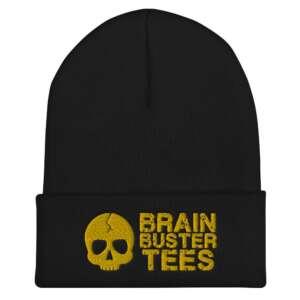 """Brainbuster Tees """"Logo"""" Cuffed Beanie"""