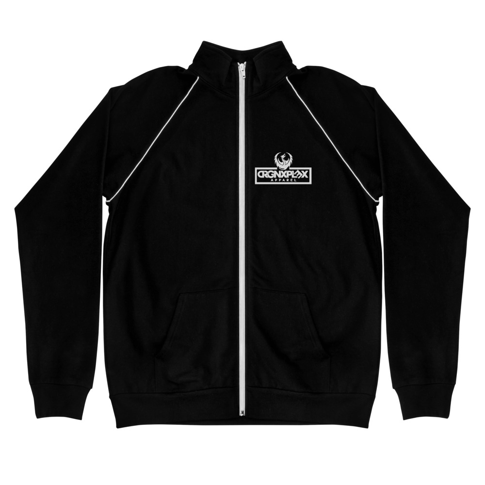 "DRGNxPLEX Apparel ""Gamer"" Piped Fleece Jacket"