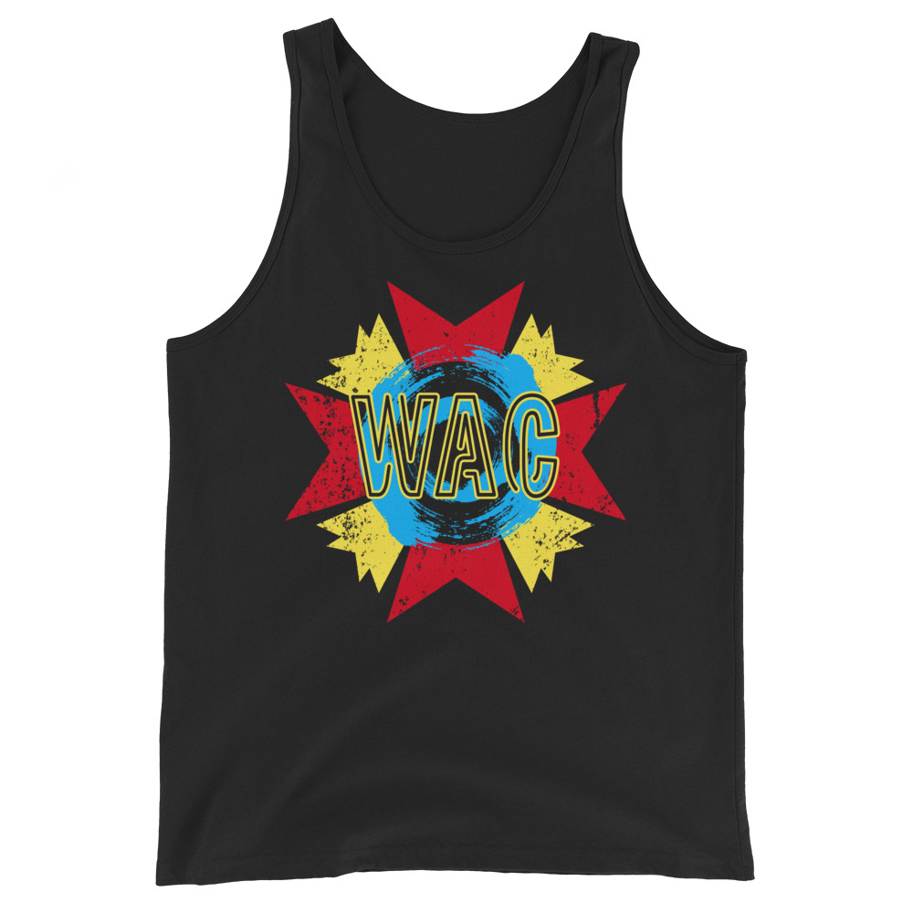 "Without A Cause ""JaimsVanDerBeek Remix Logo"" Unisex Tank Top"