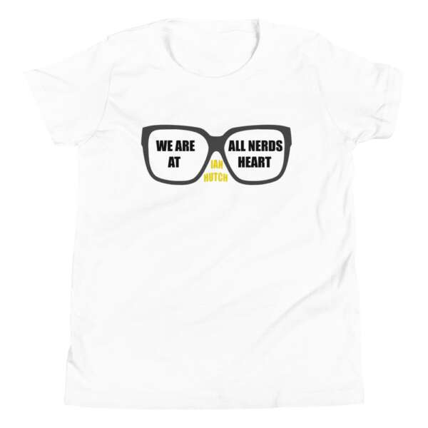 """5CC Wrestling """"Ian Hutch: We Are All Nerds"""" Youth Short Sleeve T-Shirt"""