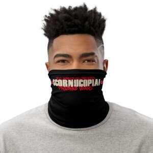 "5CC Wrestling ""SCORNUCOPIA: Promo Wars"" Neck Gaiter Face Mask"
