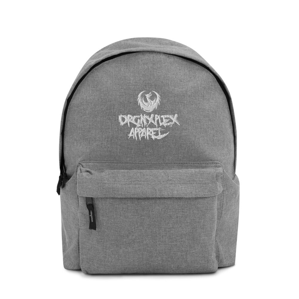 "DRGNxPLEX Apparel ""Street"" Embroidered Backpack"
