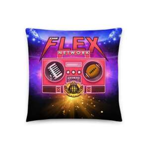 "The Flex Network ""New Logo"" Basic Pillow"
