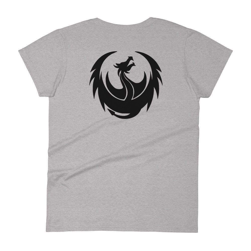 """DRGNxPLEX Apparel """"Future"""" Women's Fashion Fit T-Shirt"""