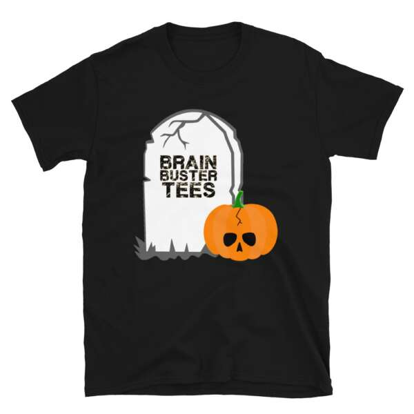 "Brainbuster Tees ""Spooky Scary"" Short-Sleeve Unisex T-Shirt"