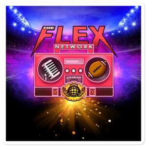 "The Flex Network ""New Logo"" Bubble-free stickers"