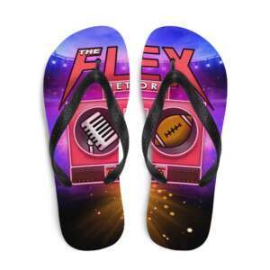 "The Flex Network ""New Logo"" Flip-Flops"
