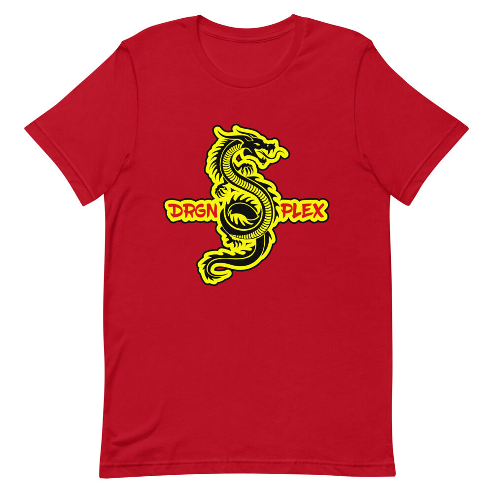 "DRGNxPLEX Apparel ""Never Say Die"" Short-Sleeve Unisex T-Shirt"