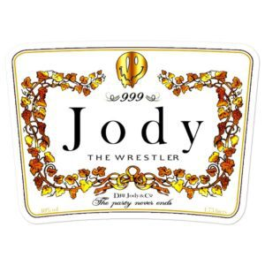 """Jody Himself """"Hennything is Possible"""" Bubble-free stickers"""
