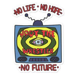 "Jody Himself ""No Future"" Bubble-free stickers"
