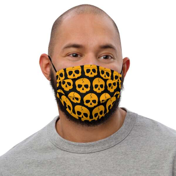 "Brainbuster Tees ""Buster"" Premium face mask"