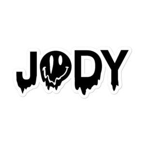 "Jody Himself ""Classic Jody"" Bubble-free stickers"