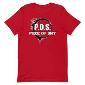 """Chris Kazama """"POS"""" Short-Sleeve Unisex T-Shirt"""