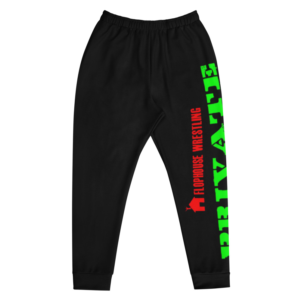 "Flophouse Wrestling ""Private Stash"" Unisex Joggers"