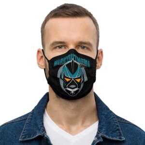 "Markoutmedia Podcast ""San Jose"" Premium face mask"