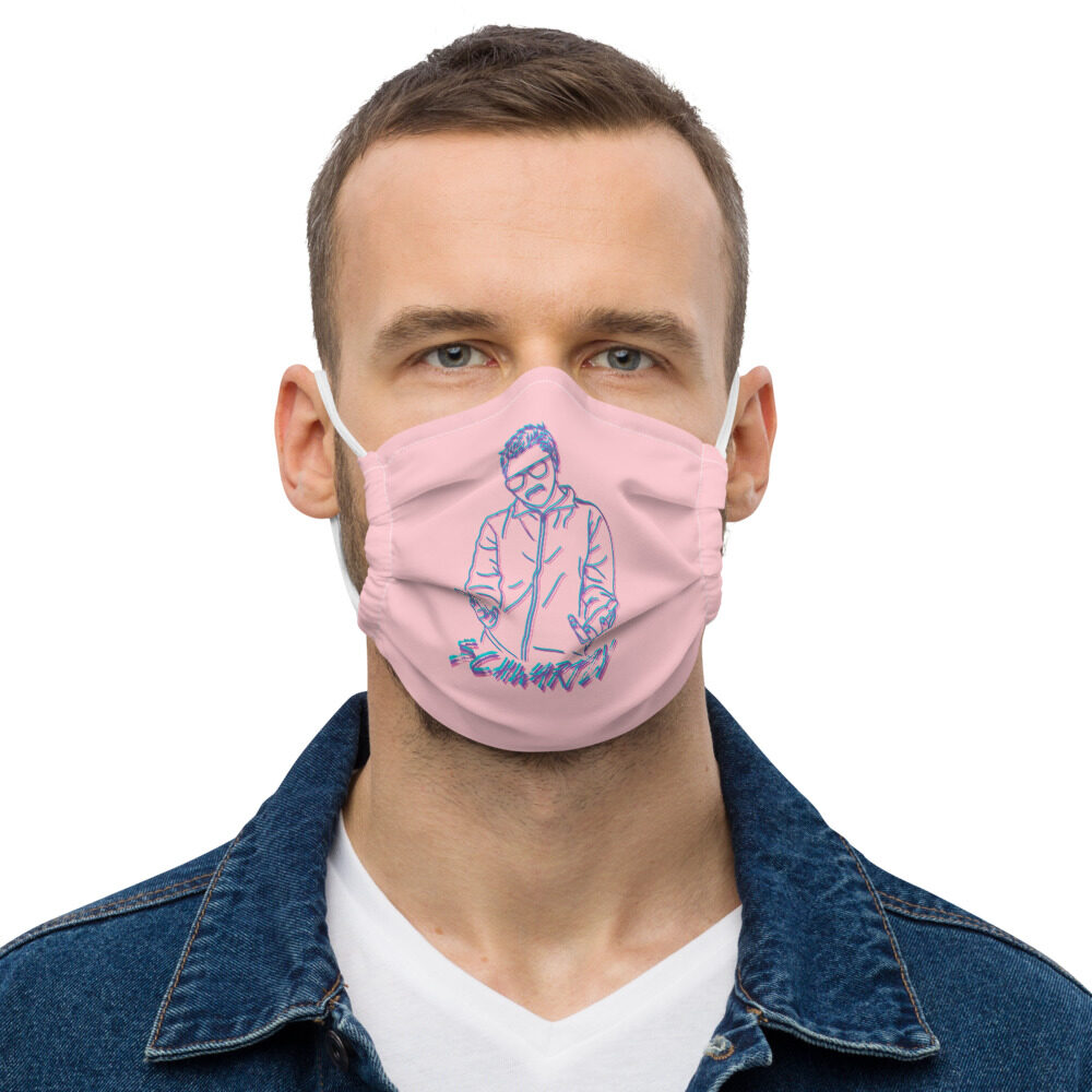 "Schwartzy ""Schwartzy Retro"" Premium face mask"