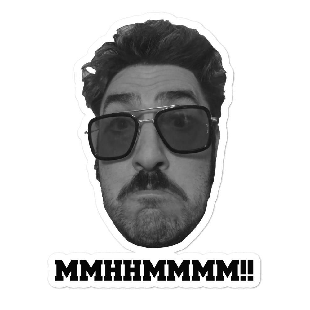 """Schwartzy """"MMHHMMMM!"""" Bubble-free stickers"""