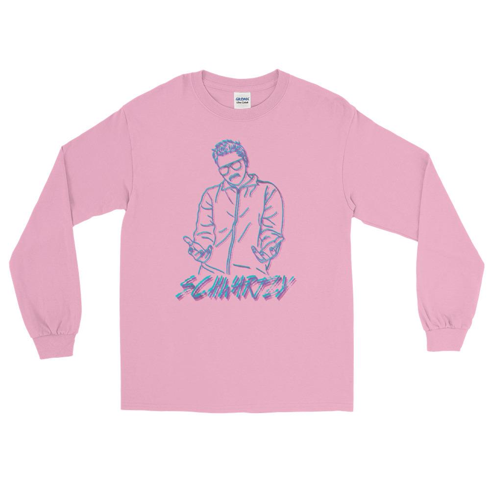 "Schwartzy ""Schwartzy Retro"" Unisex Long Sleeve Shirt"