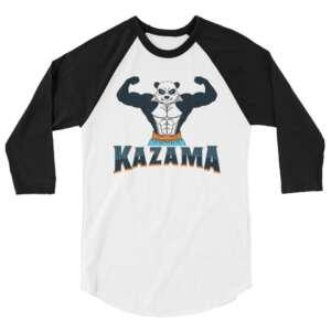 """Chris Kazama """"Adorable Violence"""" 3/4 sleeve raglan shirt"""