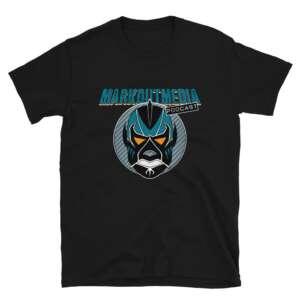"""Markoutmedia Podcast """"San Jose"""" Short-Sleeve Unisex T-Shirt"""