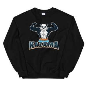 """Chris Kazama """"Adorable Violence"""" Unisex Sweatshirt"""