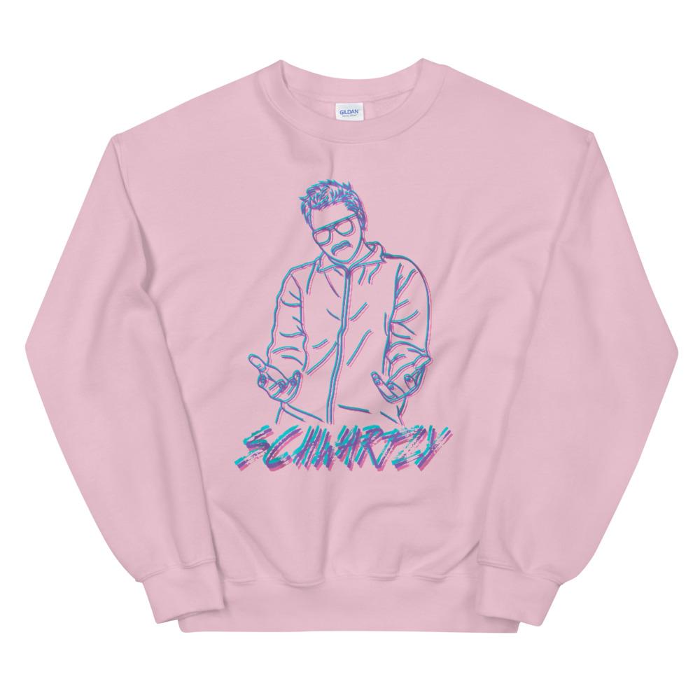 """Schwartzy """"Schwartzy Retro"""" Unisex Sweatshirt"""
