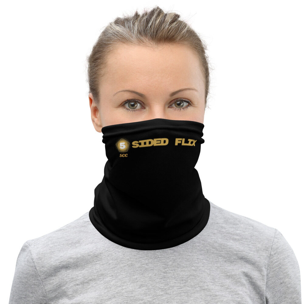 "5CC Wrestling ""5-Sided Flix"" Neck Gaiter Face Mask"