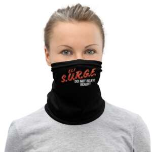 """Eli Surge """"D4RE TO BE DIFFERENT"""" Neck Gaiter Face Mask"""