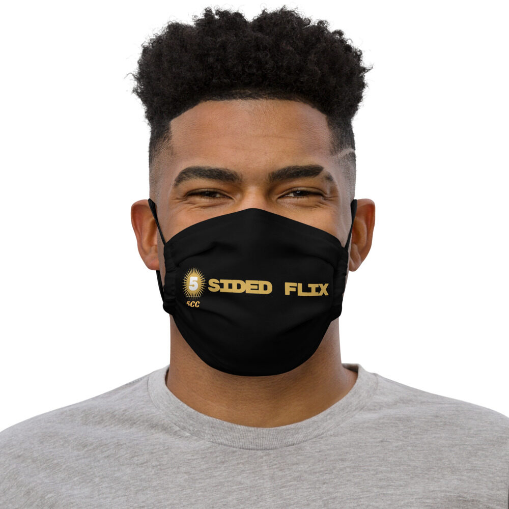 "5CC Wrestling ""5-Sided Flix"" Premium face mask"