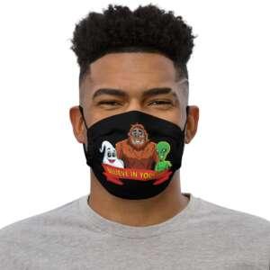 "Eli Surge ""BELIEVE IN YOURSELF"" Premium face mask"