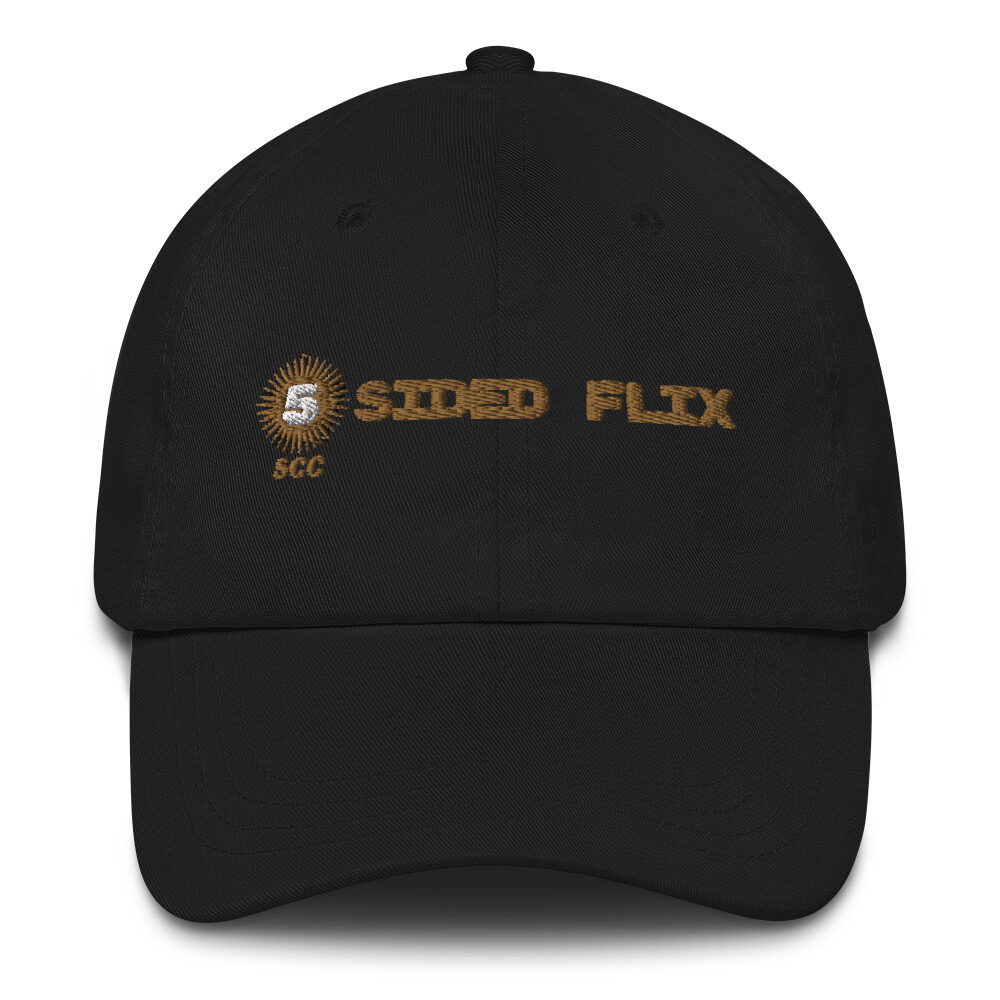 "5CC Wrestling ""5-Sided Flix"" Dad hat"