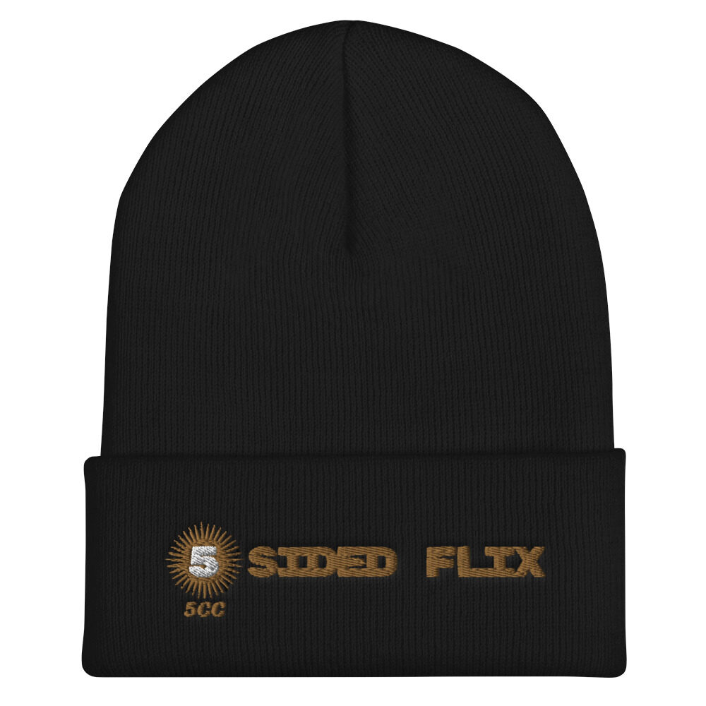 "5CC Wrestling ""5-Sided Flix"" Cuffed Beanie"