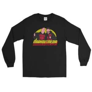 """Markoutmedia Podcast """"80's Wrestling"""" Unisex Long Sleeve Shirt"""