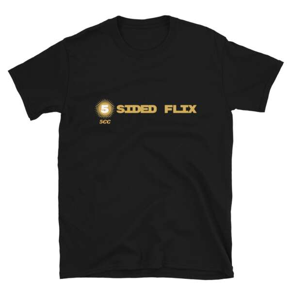"""5CC Wrestling """"5-Sided Flix"""" Short-Sleeve Unisex T-Shirt"""