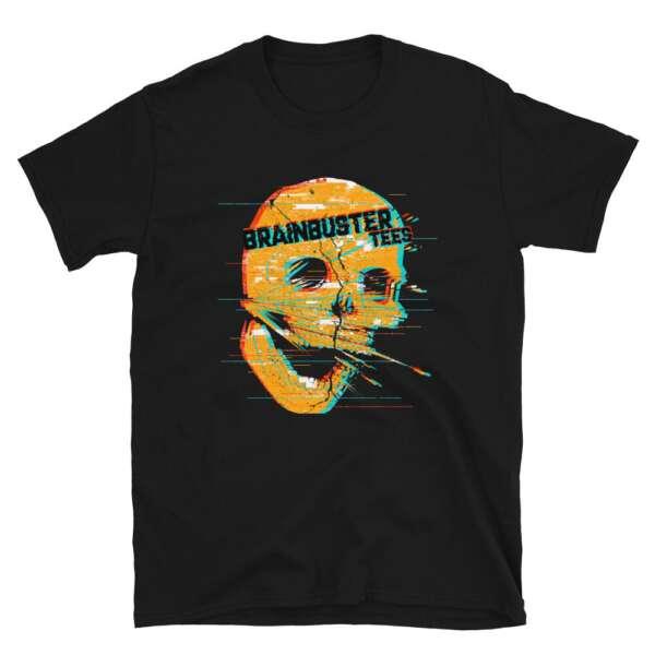 """Brainbuster Tees """"Shatterskull"""" Short-Sleeve Unisex T-Shirt"""