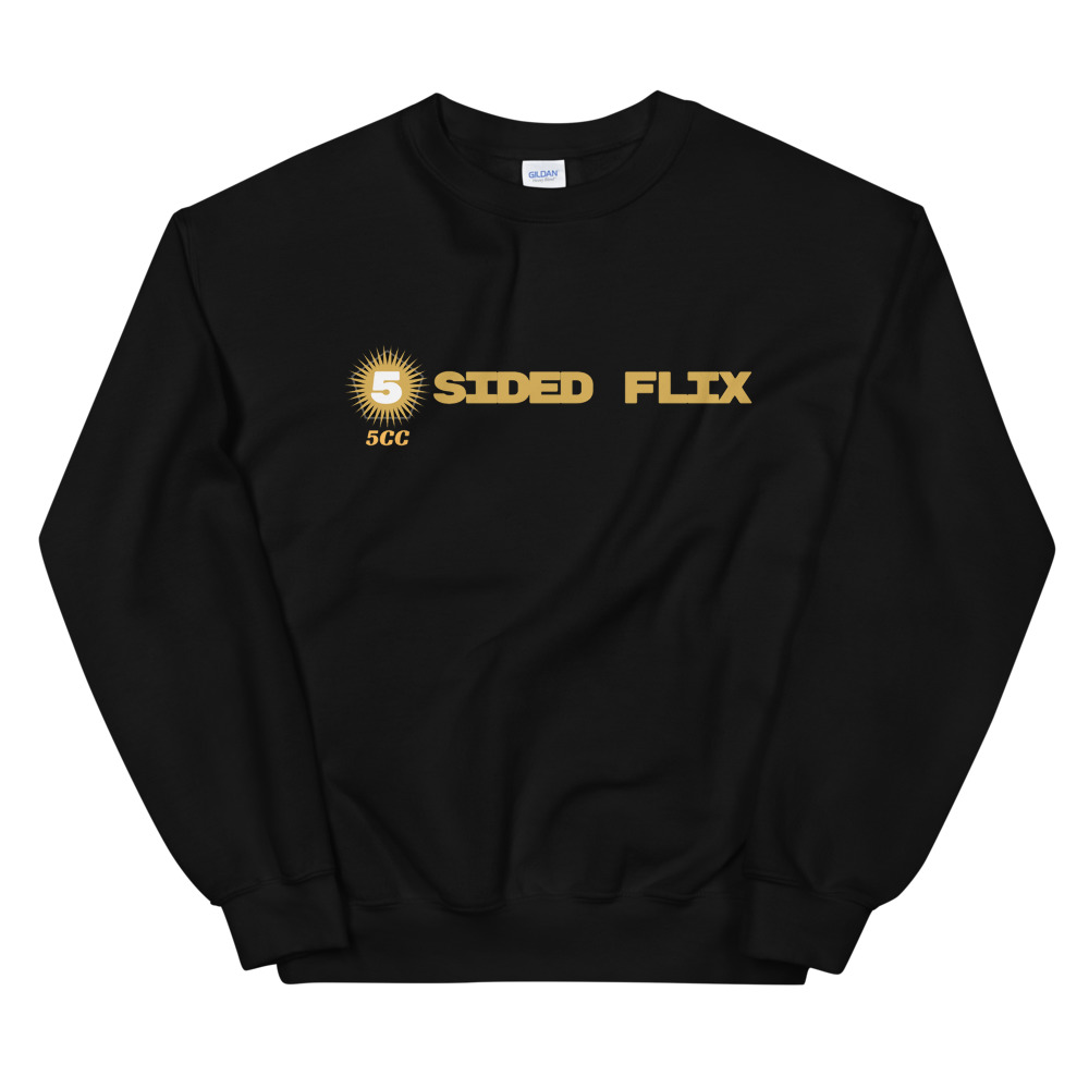 "5CC Wrestling ""5-Sided Flix"" Unisex Sweatshirt"