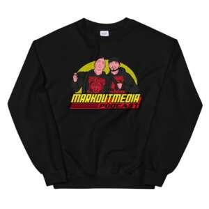 """Markoutmedia Podcast """"80's Wrestling"""" Unisex Sweatshirt"""