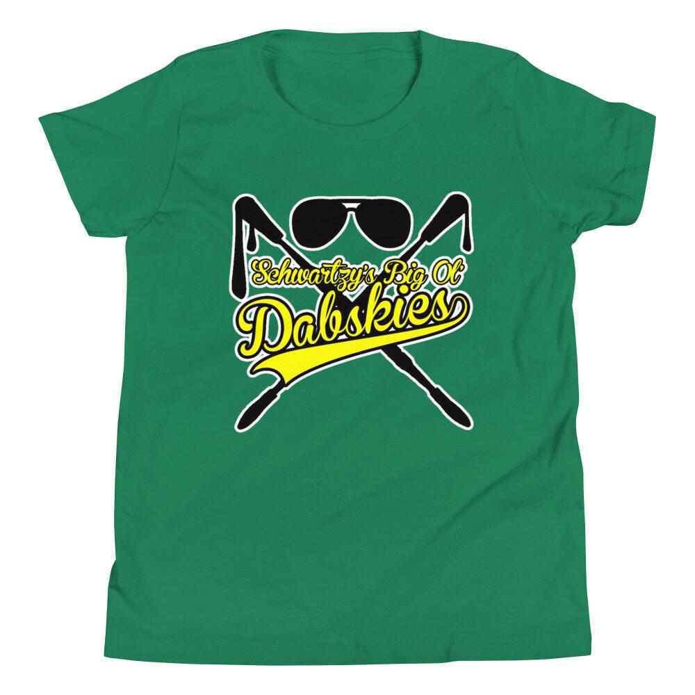 """Schwartzy """"Big Ol Dabskies!"""" Youth Short Sleeve T-Shirt"""