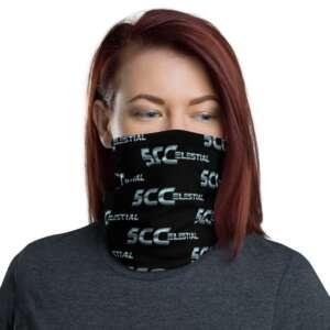 "5CC Wrestling ""5CCelestial"" Neck Gaiter Face Mask"